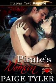 "Cover for Paige Tyler's ""Pirate's Woman"""