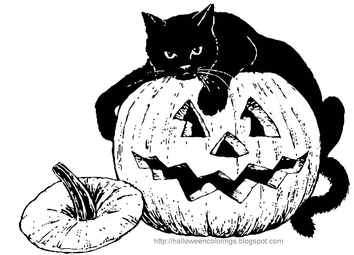 coloring pages hollween - photo#47