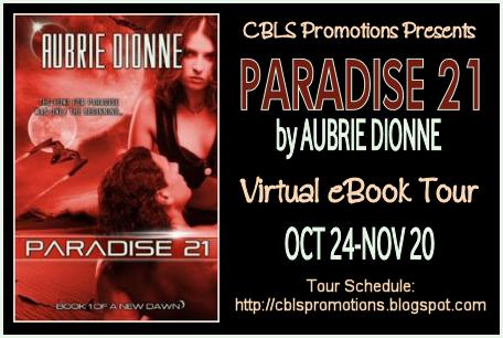 Paradise 21 tour banner